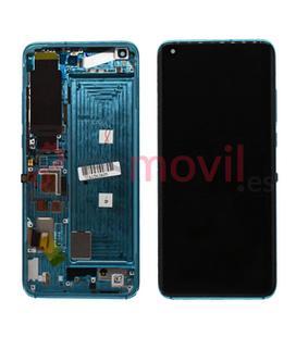 xiaomi-mi-10-pantalla-lcd-tactil-marco-verde-flex-version-c-service-pack-coral-green-flex-de-huella-incluido