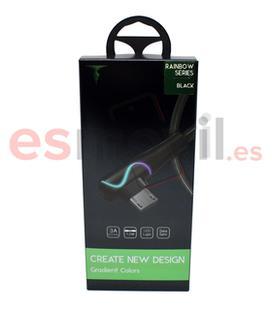 t-phox-rainbow-led-cable-usb-a-micro-tipo-codo-1-m-negro