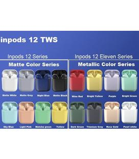 auriculares-inalambricos-bluetooth-inpods-12-true-wireless-stereo-v50-blanco-metalizado