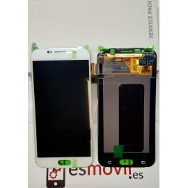 Samsung Galaxy S6 G920f Lcd + tactil blanco ( GH97-17260B )