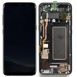 Samsung Galaxy S8 G950f Lcd + tactil + marco negro GH97-20457A