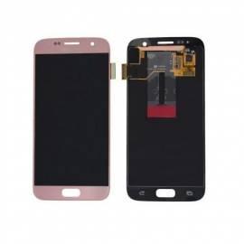 Samsung Galaxy S7 G930f Lcd + tactil rosa GH97-18523E