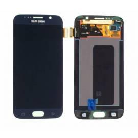 Samsung Galaxy S6 G920f Lcd +  tactil azul oscuro(negro) GH97-17260A