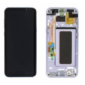 Samsung Galaxy S8 Plus G955f Lcd + tactil + marco violeta ( GH97-20470C )