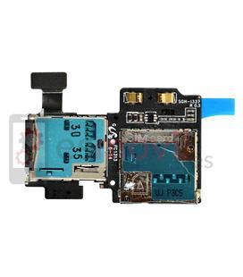Samsung Galaxy S4 i9500 / i9505 Lector sim + lector microSD