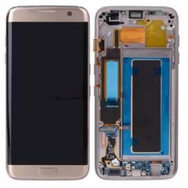 Samsung Galaxy S7 Edge G935f Lcd + tactil + marco oro GH97-18533C