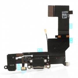 Apple iPhone 5S Flex de carga + conector jack negro