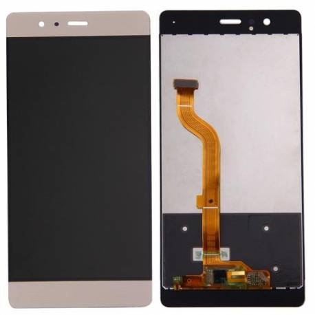 huawei-p9-lcd-tactil-oro-compatible