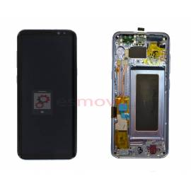 Samsung Galaxy S8 G950f Lcd + tactil + marco violeta GH97-20457C