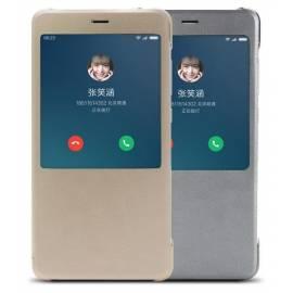 xiaomi-redmi-note-4x-funda-de-piel-con-display-oro-original