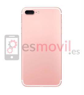 Apple iPhone 7 Plus Carcasa trasera rosa