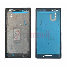 sony-xperia-m2-marco-frontal-negro-compatible