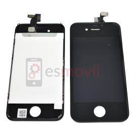 Apple iPhone 4S Lcd + tactil negro