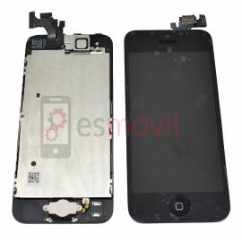 Apple iPhone 5 Lcd + tactil + componentes negro