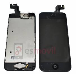 Apple iPhone 5C Lcd + tactil+ componentes negro